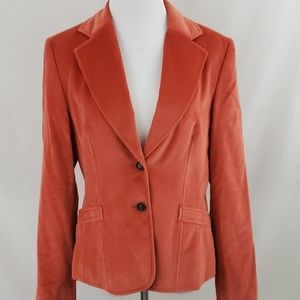 Burnt Orange Talbots Blazer sz 6
